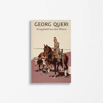 Buchcover Georg Queri Kriegsbüchl aus dem Westen