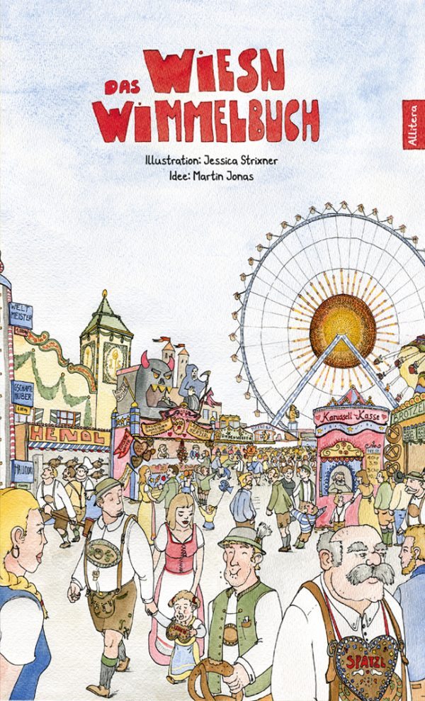 Cover Wiesn Wimmelbuch