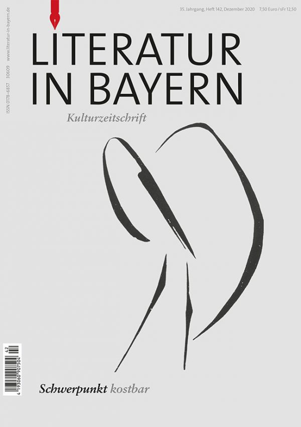 Cover Literatur in Bayern 142