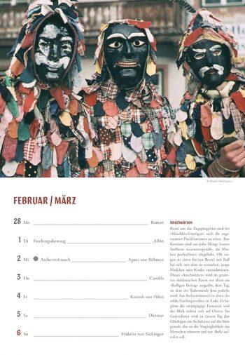 Kalendercover Dietlind Pedarnig ausgesprochen bayerisch Wochenkalender 2022