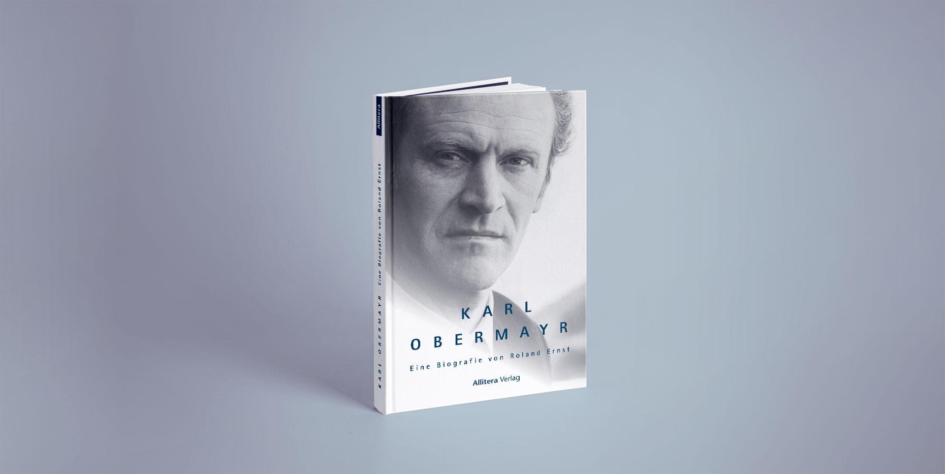 Buchcover stehend Roland Ernst Karl Obermayr
