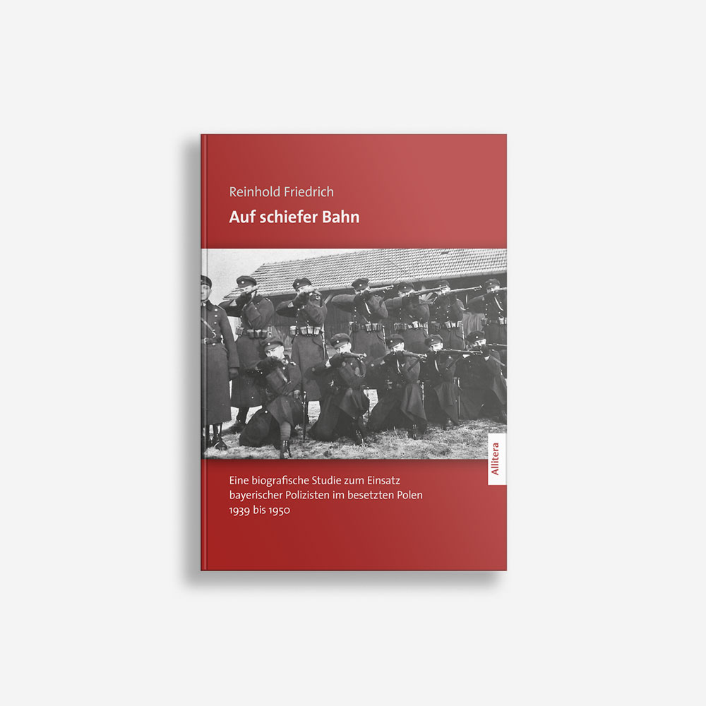 Buchcover Reinhold Friedrich Auf schiefer Bahn