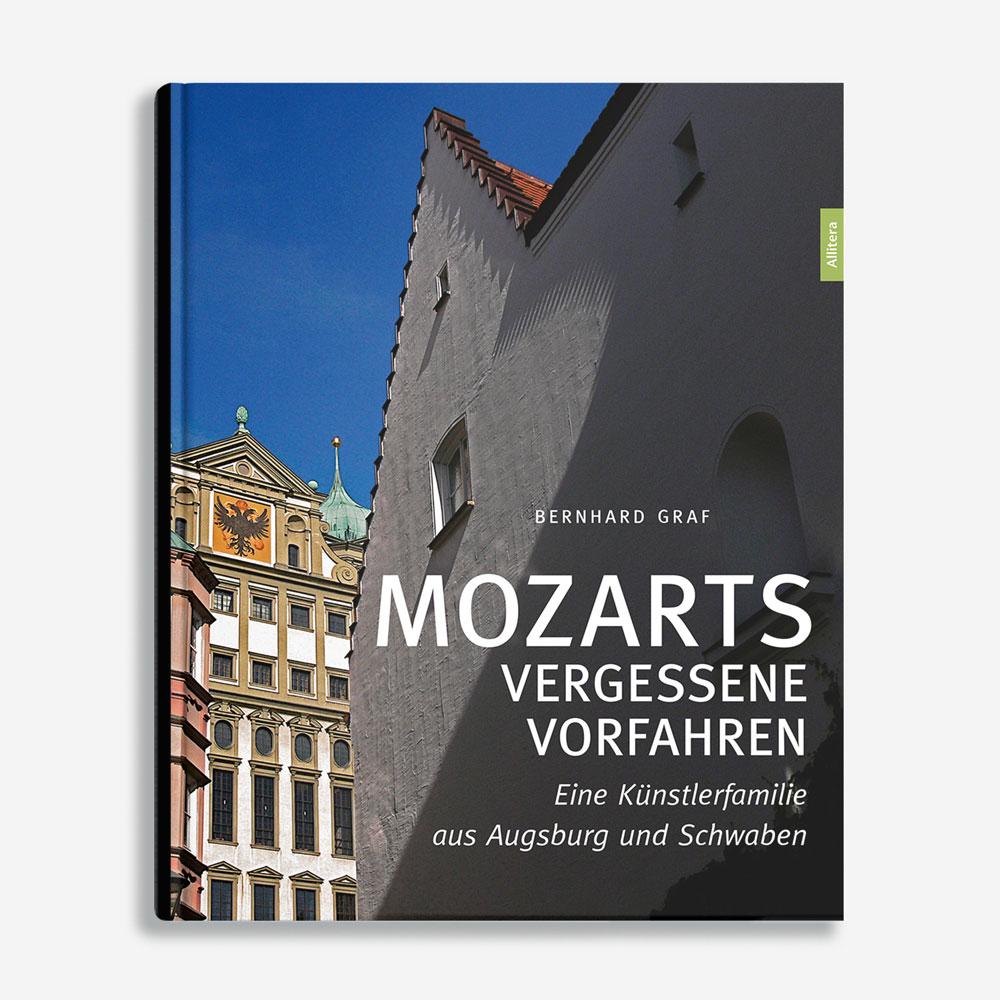 Buchcover Bernhard Graf Mozarts vergessene Vorfahren