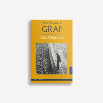 Buchcover Oskar Maria Graf Der Abgrund