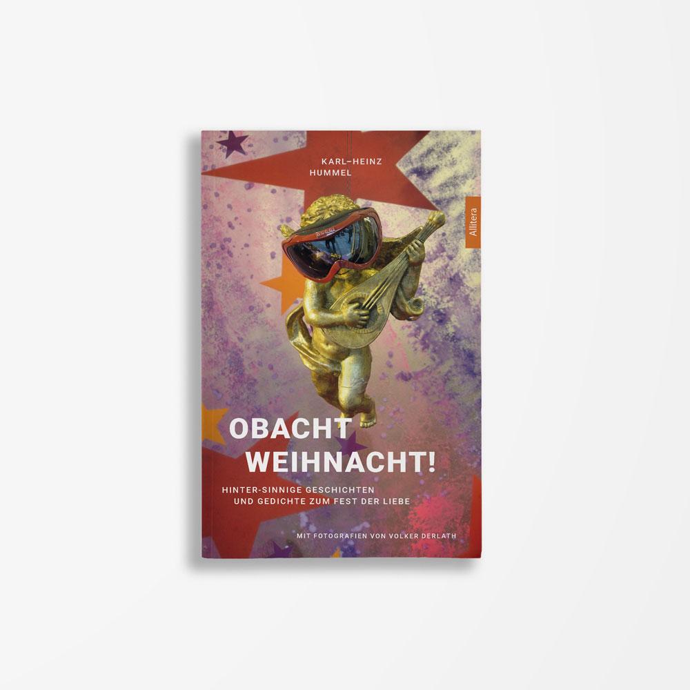 Buchcover Karl-Heinz Hummel Obacht Weihnacht