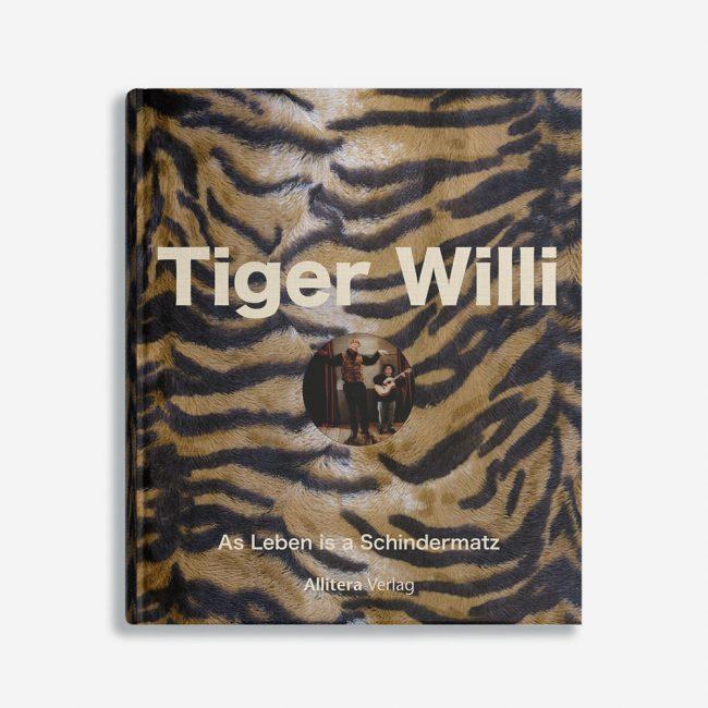 Buchcover Andrea Raabe Tiger Willi