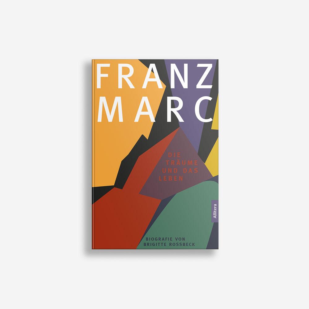 Buchcover Brigitte Rossbeck Franz Marc