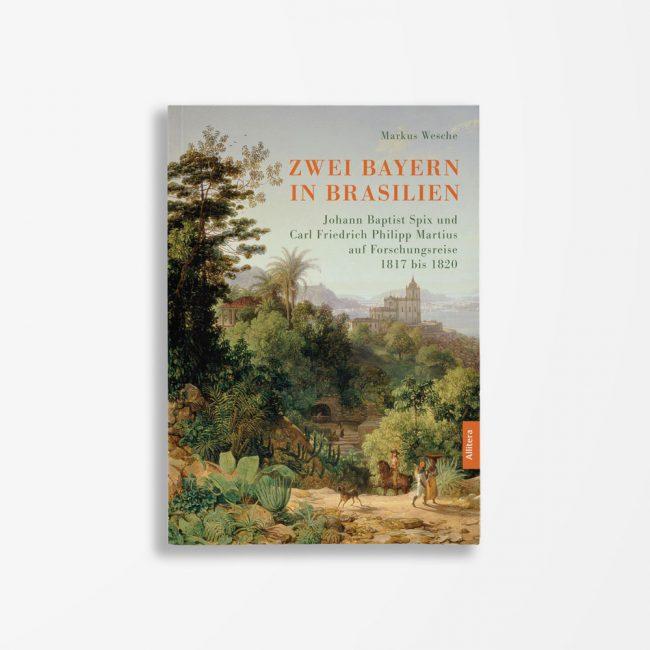 Buchcover Markus Wesche Zwei Bayern in Brasilien