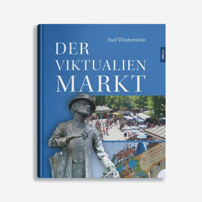 Buchcover Alex Winterstein der Viktualien Markt