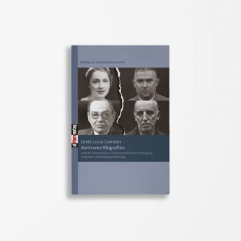 Buchcover Linda Lucia Damskis Zerrissene Biografien