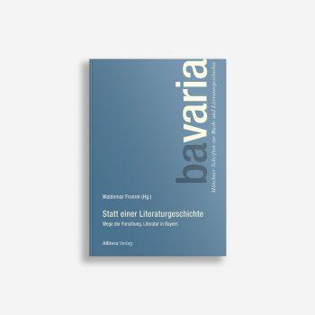 Buchcover Waldemar Fromm Statt einer Literaturgeschichte