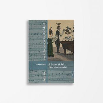 Buchcover Daniela Glahn Johanna Kinkel