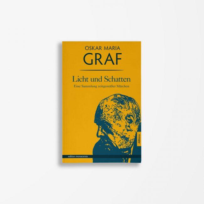 Buchcover Oskar Maria Graf Licht und Schatten