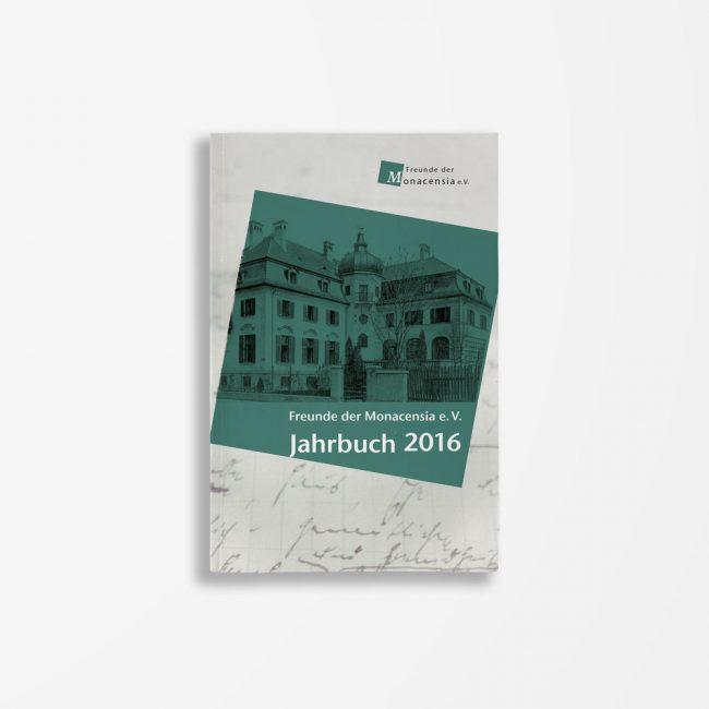 Buchcover Waldemar Fromm Wolfram Göbel Kristina Kargl Freunde der Monacensia e. V. – Jahrbuch 2016