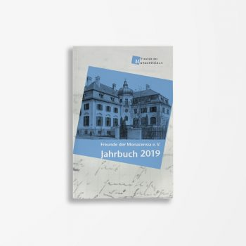 Buchcover Waldemar Fromm Wolfram Göbel Kristina Kargl Freunde der Monacensia e. V. – Jahrbuch 2019
