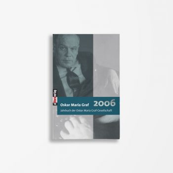 Buchcover Ulrich Dittmann Hans Dollinger Oskar Maria Graf 2006