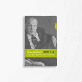 Buchcover Ulrich Dittmann Hans Dollinger Oskar Maria Graf 2013/2014