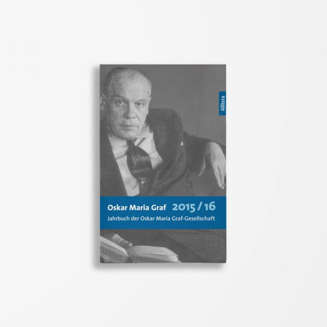Buchcover Ulrich Dittmann Waldemar Fromm Oskar Maria Graf 2015/2016