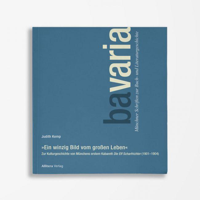 Buchcover Judith Kemp »Ein winzig Bild vom großen Leben«