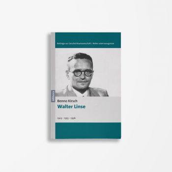 Buchcover Benno KIrsch Walter Linse