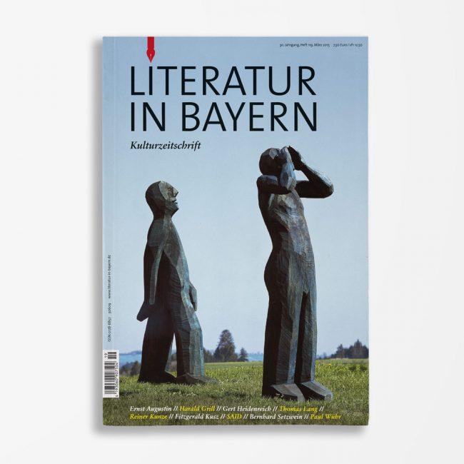 Zeitschriftencover Gerd Holzheimer Literatur in Bayern 119