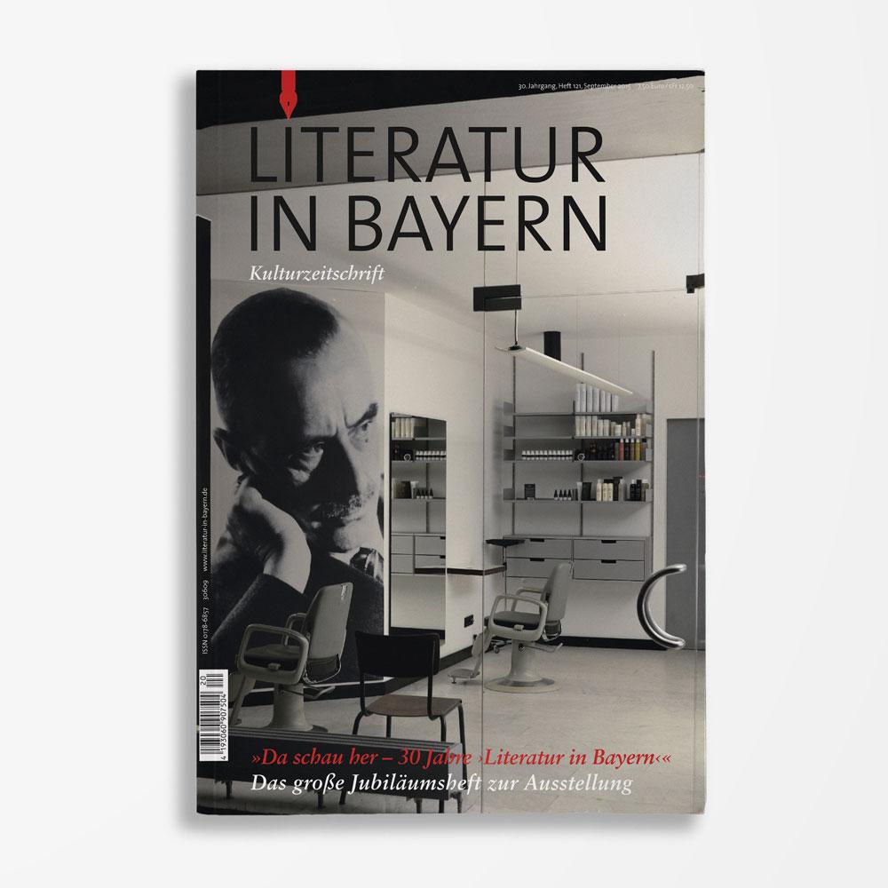 Zeitschriftencover Gerd Holzheimer Literatur in Bayern 121