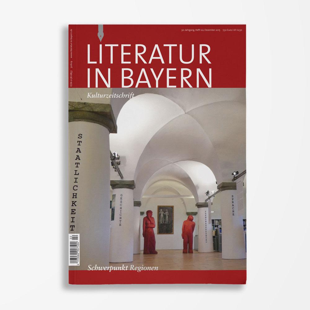 Zeitschriftencover Gerd Holzheimer Literatur in Bayern 122