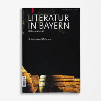 Zeitschriftencover Gerd Holzheimer Literatur in Bayern 123
