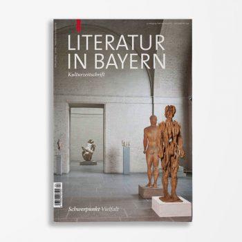 Zeitschriftencover Gerd Holzheimer Literatur in Bayern 124