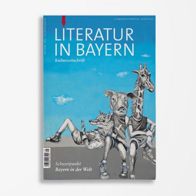 Zeitschriftencover Gerd Holzheimer Literatur in Bayern 125
