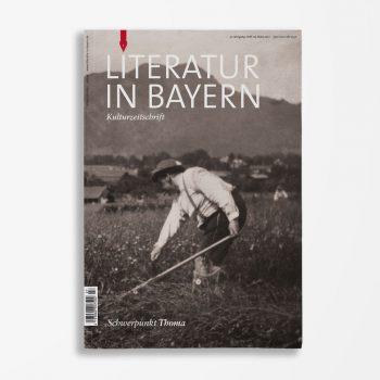 Zeitschriftencover Gerd Holzheimer Literatur in Bayern 127