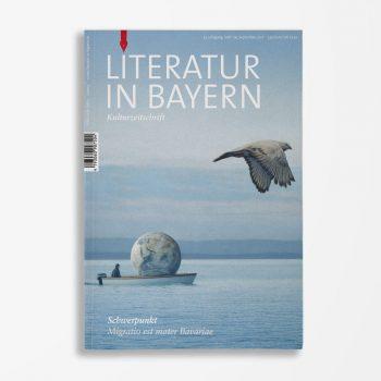 Zeitschriftencover Gerd Holzheimer Literatur in Bayern 129