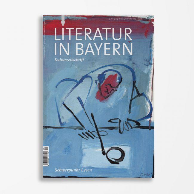 Zeitschriftencover Gerd Holzheimer Literatur in Bayern 130
