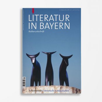 Zeitschriftencover Gerd Holzheimer Literatur in Bayern 131