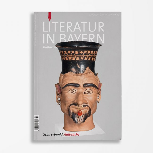 Zeitschriftencover Gerd Holzheimer Literatur in Bayern 132