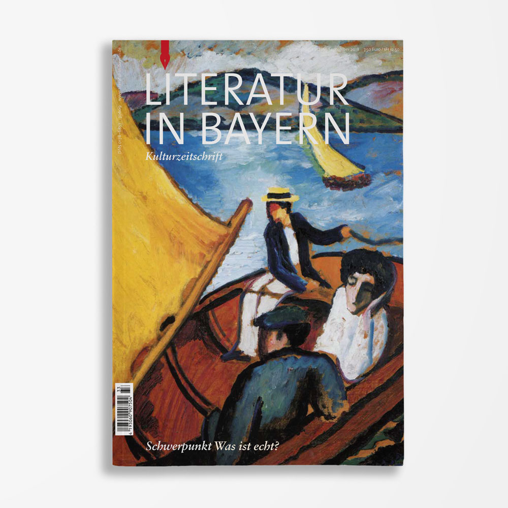 Zeitschriftencover Gerd Holzheimer Literatur in Bayern 133