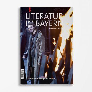 Zeitschriftencover Gerd Holzheimer Literatur in Bayern 137