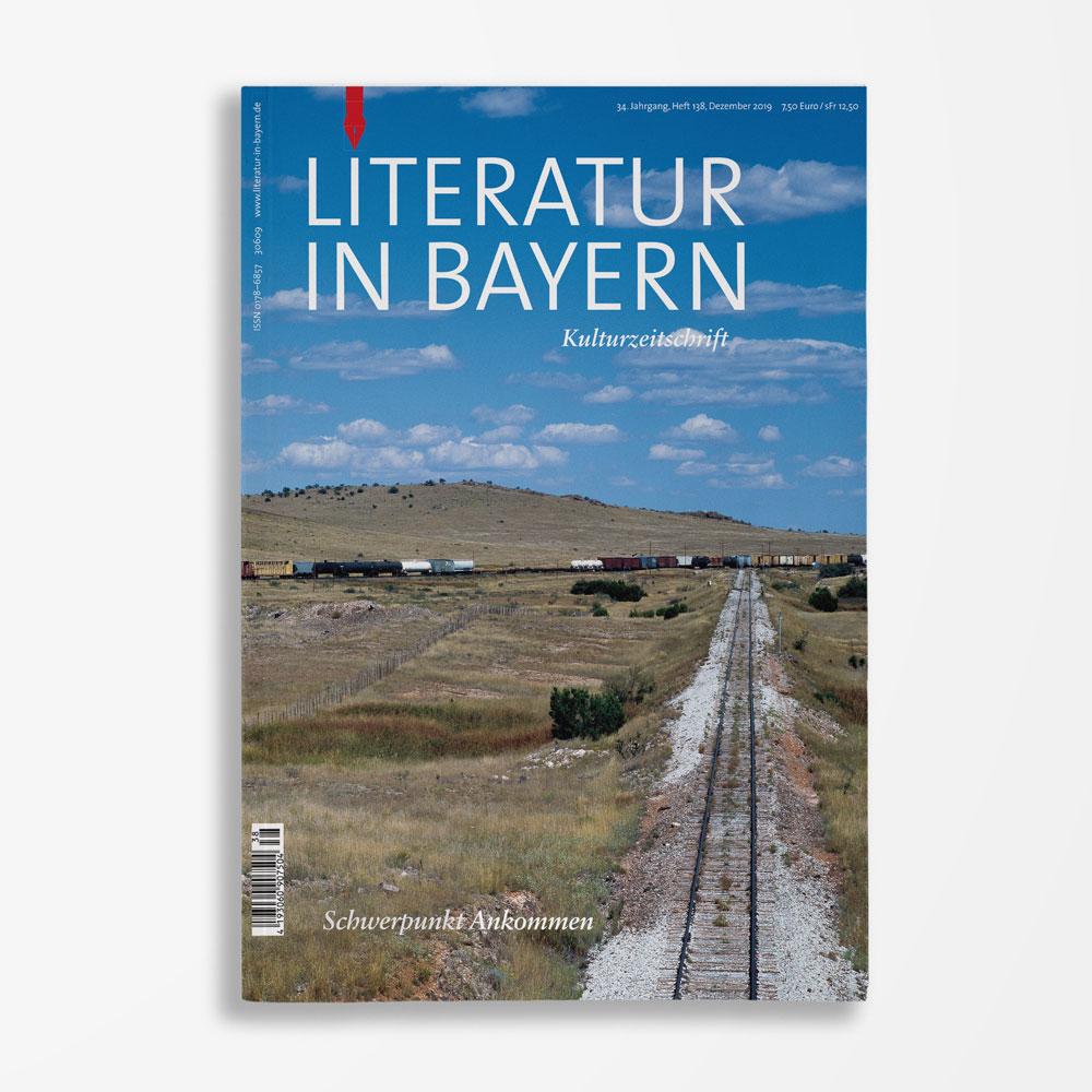 Zeitschriftencover Gerd Holzheimer Literatur in Bayern 138