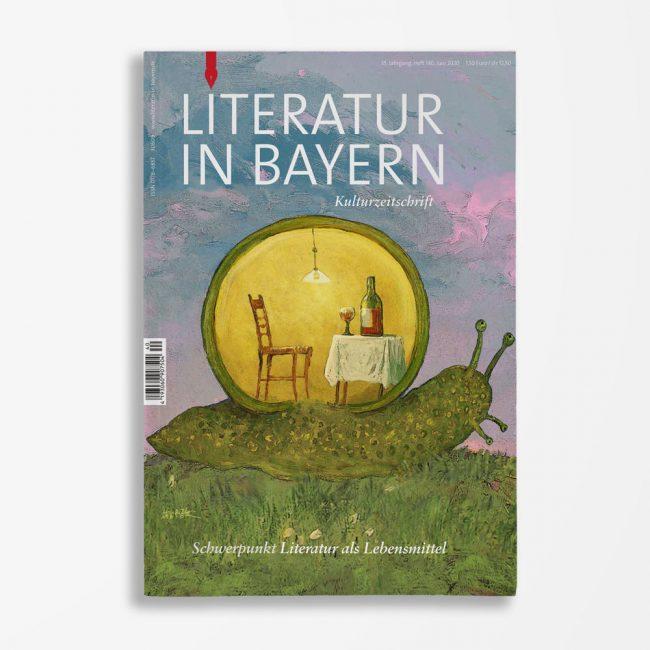 Zeitschriftencover Gerd Holzheimer Literatur in Bayern 140