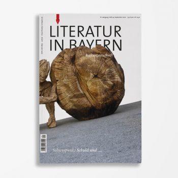 Zeitschriftencover Gerd Holzheimer Literatur in Bayern 141