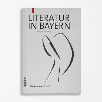 Zeitschriftencover Gerd Holzheimer Literatur in Bayern 142