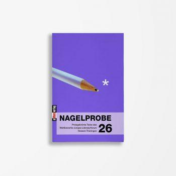Buchcover Hessisches Ministerium für Wissenschaft und Kunst Nagelprobe 26