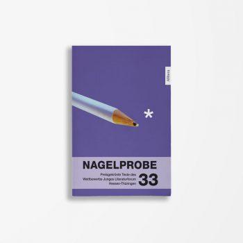 Buchcover Hessisches Ministerium für Wissenschaft und Kunst Nagelprobe 33