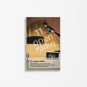 Buchcover Literaturwerkstatt Berlin 11. open mike