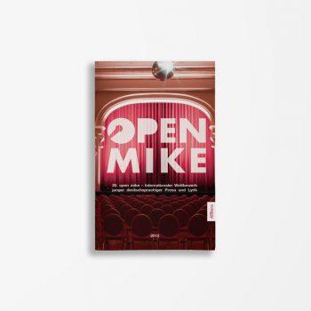 Buchcover Literaturwerkstatt Berlin 20. open mike