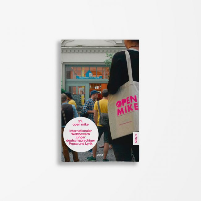 Buchcover Literaturwerkstatt Berlin 21. open mike