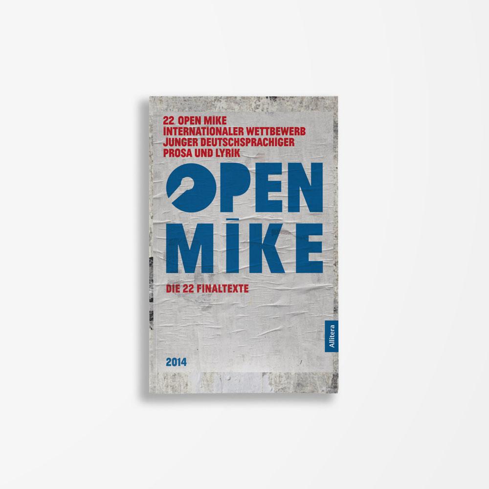 Buchcover Literaturwerkstatt Berlin 22. open mike