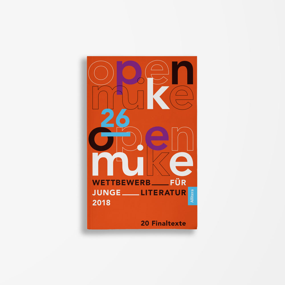 Buchcover Literaturwerkstatt Berlin 26. open mike