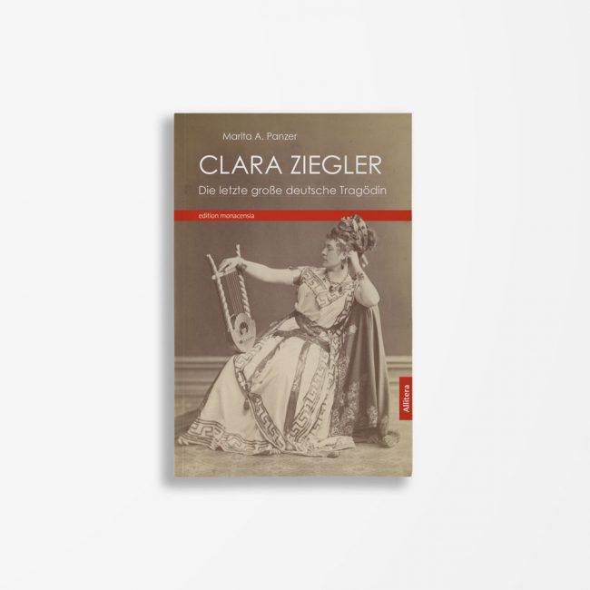 Buchcover Marita A. Panzer Clara Ziegler