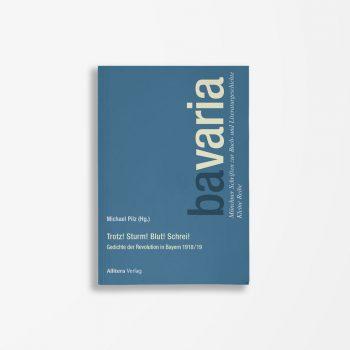 Buchcover Michael Pilz Trotz Sturm Blut Schrei